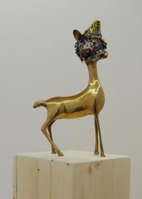 Thom Merrick - Galerie Susanna Kulli - Brass Sculptures - 2006 - 2/7