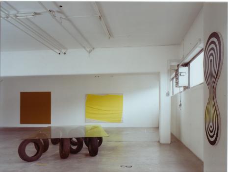 Olivier Mosset_Stephen Parrino_Thom Merrick_John Tremblay_Galerie_Susanna Kulli_Ecart by John Armleder
