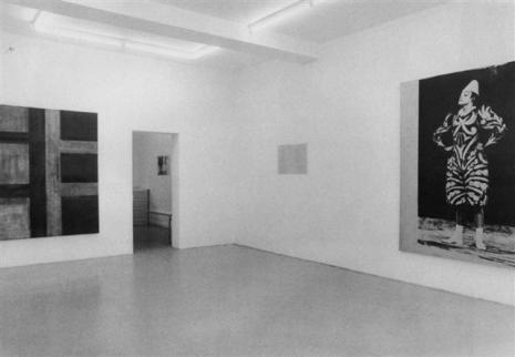 Armleder-Federle-Merz-Spaeti-Spagnulo-Wizemann - Galerie Susanna Kulli - untitled 1983/84