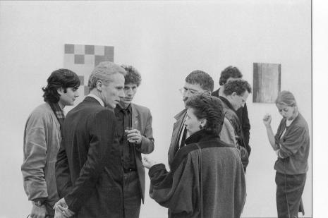 Helmut Federle _Galerie Susanna Kulli_1983