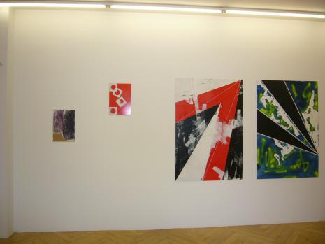 Shila Khatami - Galerie Susanna Kulli - Topspin - 2010 - 1/6