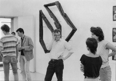 Henri Spaeti - Galerie Susanna Kulli - Bilder, Zeichnungen, Objekt, Plastik - 1983 -1/1