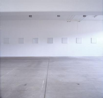 Federle-Mosset-Rockenschaub-Schiess - Galerie Susanna Kulli - 1990 - 1/2
