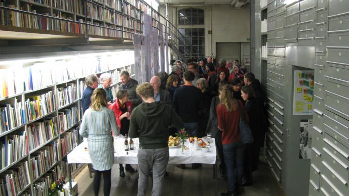 Buchpräsentation_ 33 Jahre Galerie Susanna Kulli - Ein Materialbuch_Kunstbibliothek Sitterwerk_St.Gallen