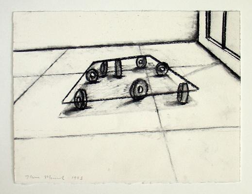 Merrick - Quartz Mouvement / working drawings 1990-1997 - Galerie Susanna Kulli - 2007 - 3/5