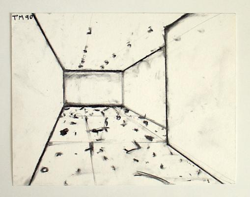 Merrick - Quartz Mouvement / working drawings 1990-1997 - Galerie Susanna Kulli - 2007 - 4/5