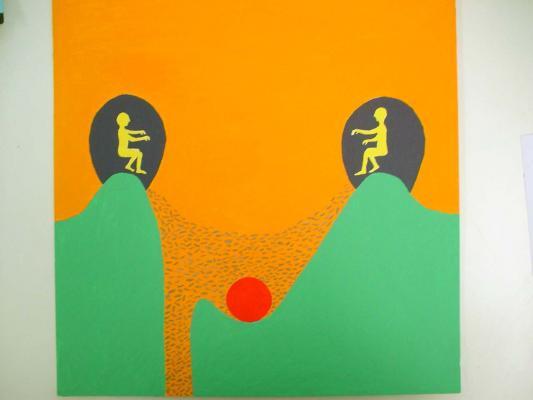 Bertold Stallmach - Galerie Susanna Kulli - Warten auf den 9-Uhr Witz - 2010 - 4/7