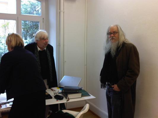 Gerhard Merz_Olivier Mosset_Galerie Susanna Kulli_Zuerich 2013