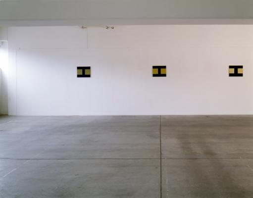 Galerie_Susanna Kulli_Helmut Federle_On Kawara_Walter Obholzer_Adrian Schiess_Albrecht Schnider_1994