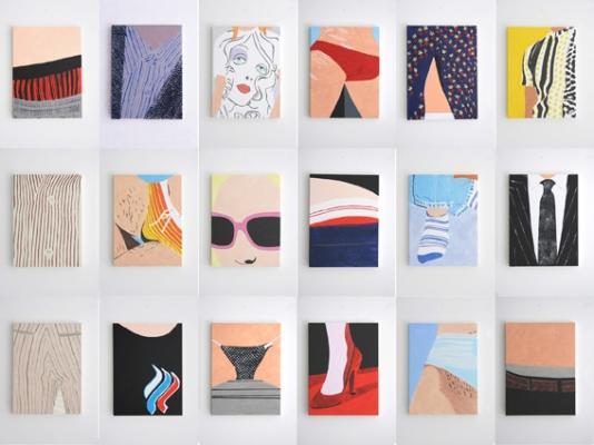 Crotti / Manz - Galerie Susanna Kulli - Malerei / Zeichnung - summertime - 2005 - 3/4