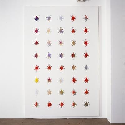 John Armleder_Galerie_Susanna Kulli_2002