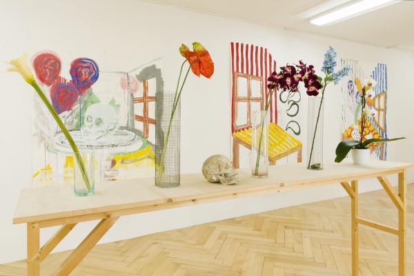 Michael Noser - Galerie Susanna Kulli - Jardin des Plantes - 2014 - 2/6