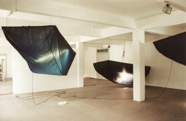 Thom Merrick - Galerie Susanna Kulli - Reading Lamps - 1996 - 1/3
