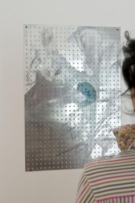 Shila Khatami - Galerie Susanna Kulli - exploring painting - 2012 - 3/3