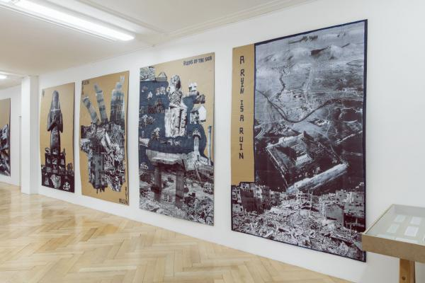 Thomas Hirschhorn_A RUIN IS A RUIN_Galerie_Susanna Kulli_2016