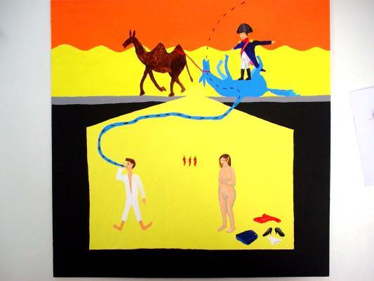 Bertold Stallmach - Galerie Susanna Kulli - Warten auf den 9-Uhr Witz - 2010 - 5/7